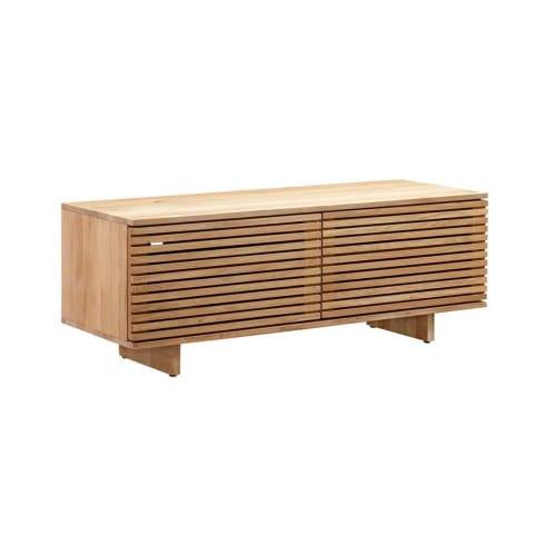 Linear Entertainment Unit 120cm - Oak