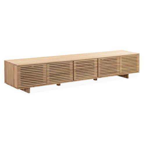 Linear Entertainment Unit 240cm - Oak