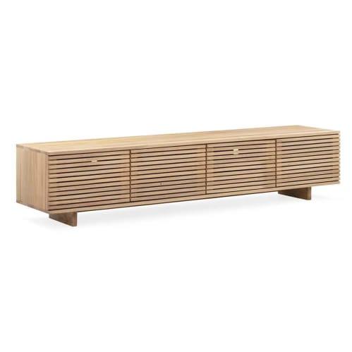 Linear Entertainment Unit 210cm - Oak