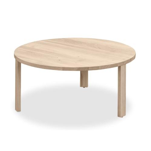 Layer Nesting Coffee Table Large - Whitewash Oak