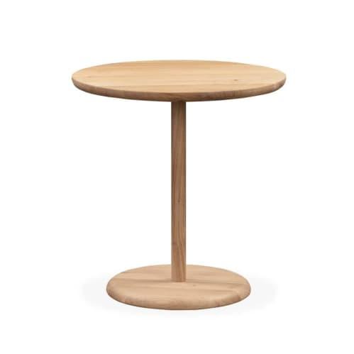 Turn Side Table - Oak