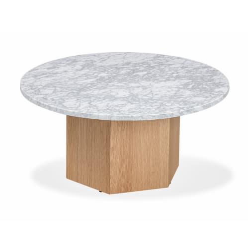 Bunch Nesting Table Small - Carrara Marble