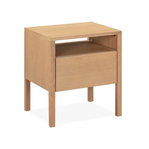 Reside Bedside Table - Oak