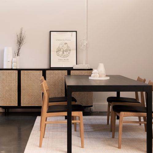 Connect Dining Table - Black
