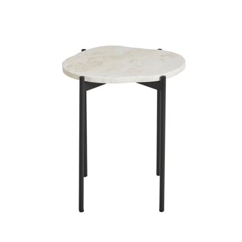 La Terra Small Side Table - Travertine