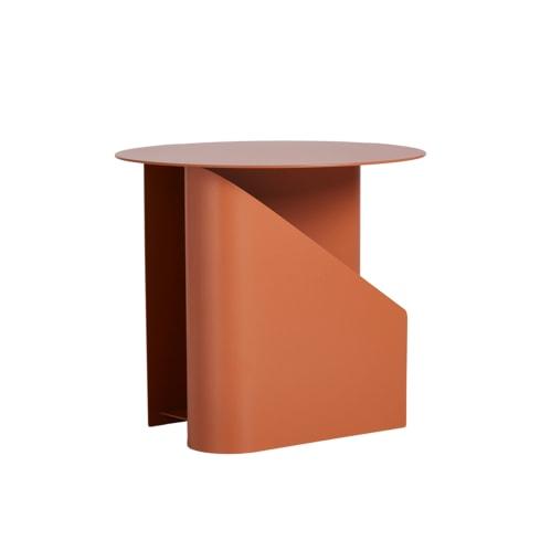 Sentrum Side Table - Burnt Orange