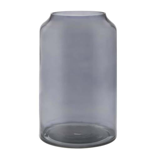 Deco Vase - Tall Smoke