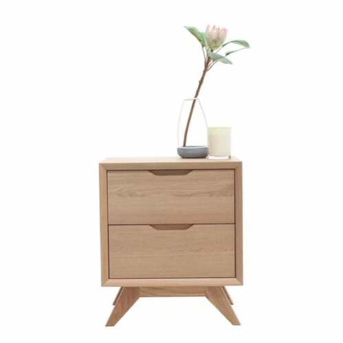 Harper Bedside Table - Oak