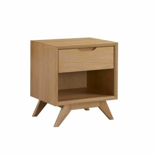 Harper Open Bedside Table - Oak