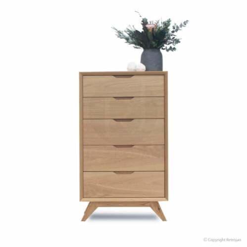 Harper 5 Drawer Chest - Oak