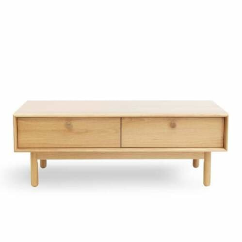 Akira Contemporary Coffee Table with Drawer