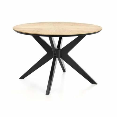 Maddox Contemporary Circle Dining Table