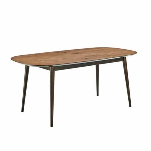 Sadie 6-8 Seater Extension Dining Table - Dark Walnut