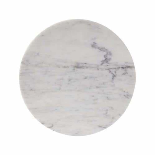 Circle Trivet - Carrara