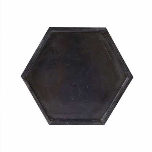 Hexagon Tray - Nero