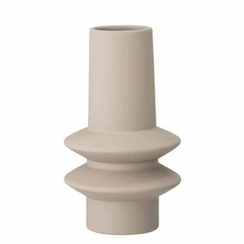 Low Matte Vase - Off White