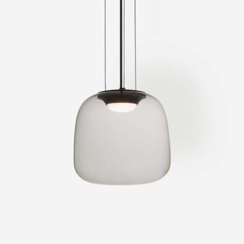 AB Small Pendant - Smoke Grey