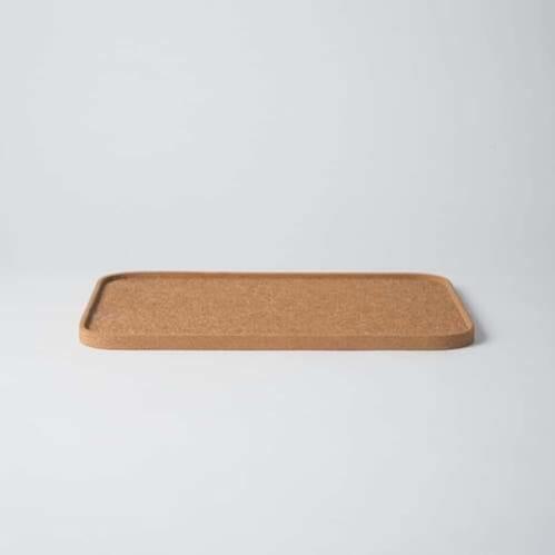 Cork Rectangular Tray