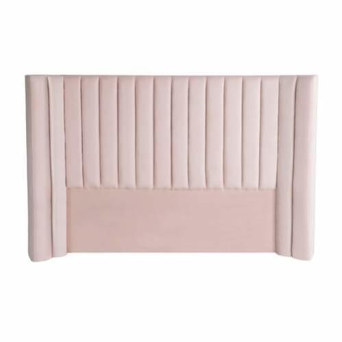 Lulu Velvet Bed Head Petal Pink