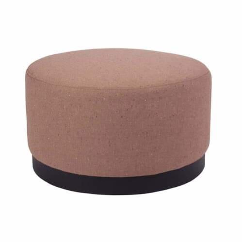 Tribeca Ottoman Medium - Woli Clay