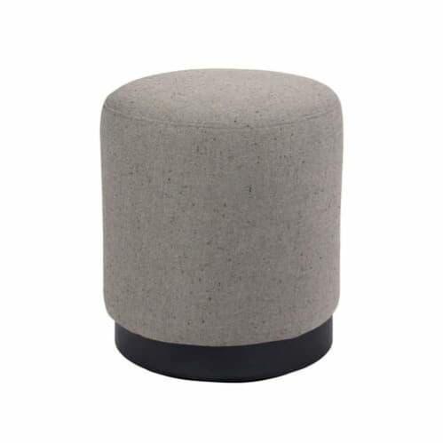 Tribeca Ottoman Small - Woli Grey
