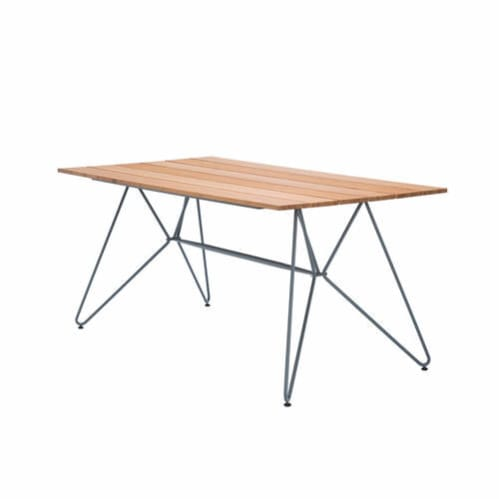 Sketch Outdoor Dining Table 160cm - Bamboo/Grey
