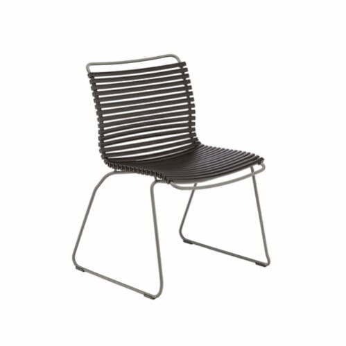 Click Outdoor Dining Chair - Black