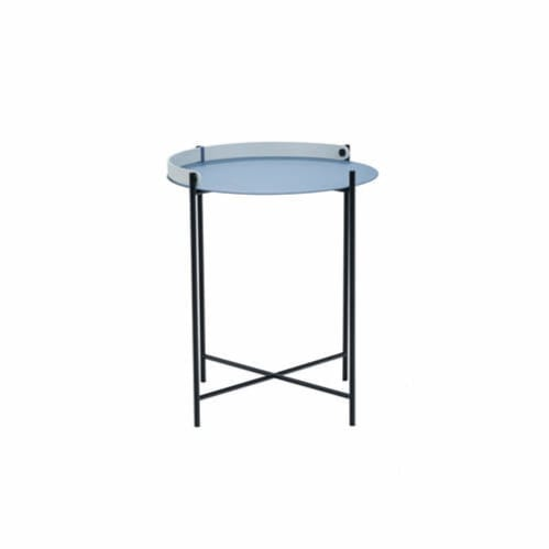 Edge Tray Side Table 46cm -  Pigeon Blue