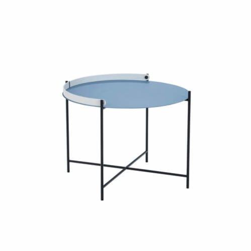 Edge Tray Coffee Table 62cm - Pigeon Blue