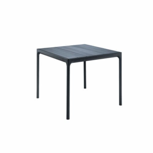 Four Outdoor Dining Table 90cm - Black