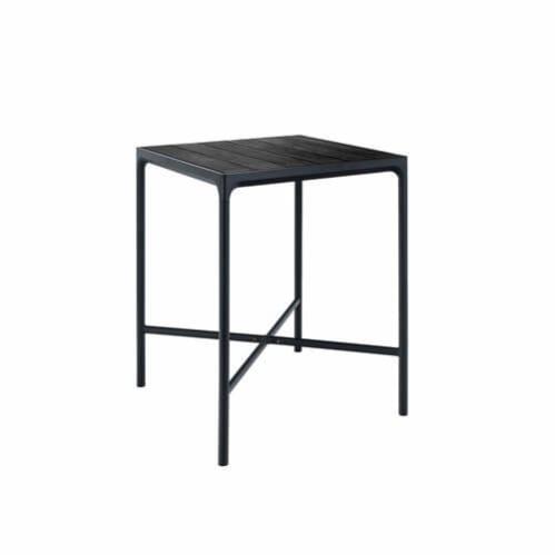 Four Outdoor Bar Table 90cm - Black