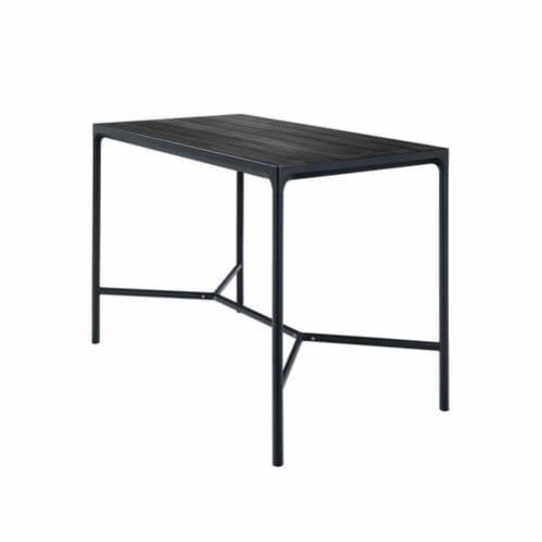 Four Outdoor Bar Table 160cm - Black
