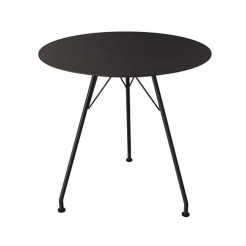 Circum Outdoor Round Dining Table - Black