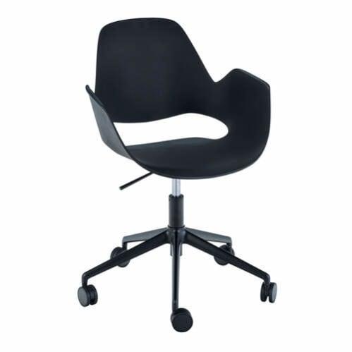 Falk Office Chair W Castor Base - Black