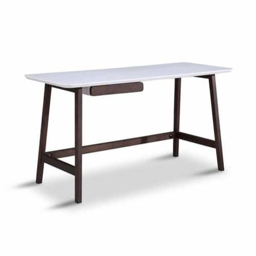 Ryan Office Desk - Black Oak