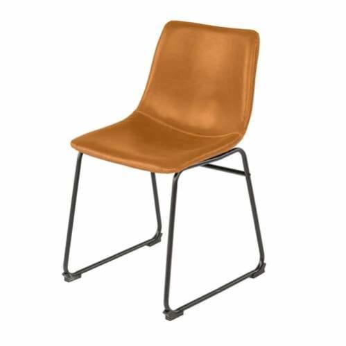SET OF 2 - Ambrose Dining Chair / Tan