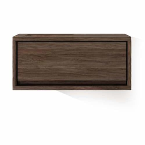 Circa Hanging Cabinet W/ Drawer - Walnut