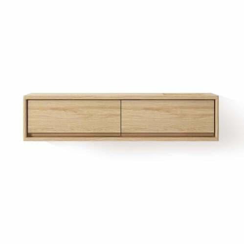 Circa Hanging Cabinet W/ 2 Drawers - Oak