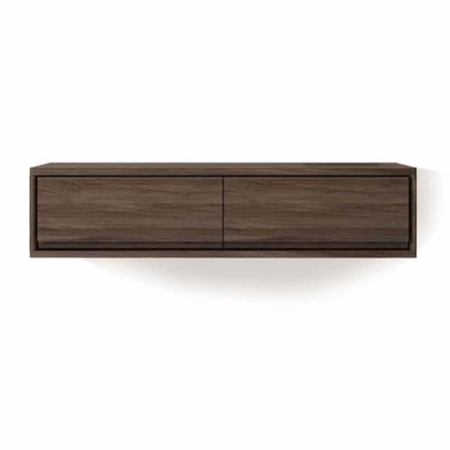 Circa Hanging Cabinet W/ 2 Drawers - Walnut