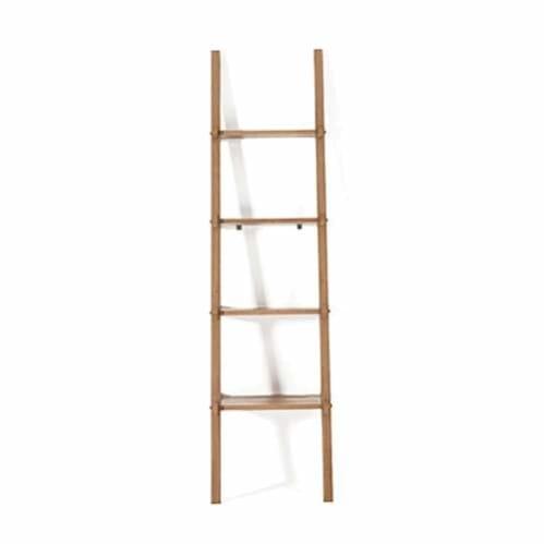 Simply City Ladder Shelves - Teak