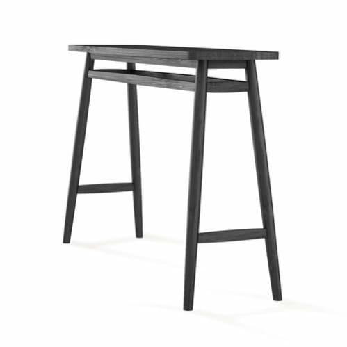 Twist Console Table 120cm - Satin Black