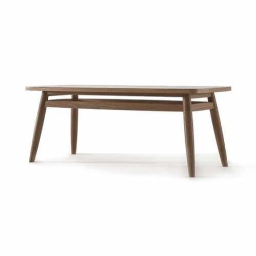 Twist Coffee Table 100cm - Teak