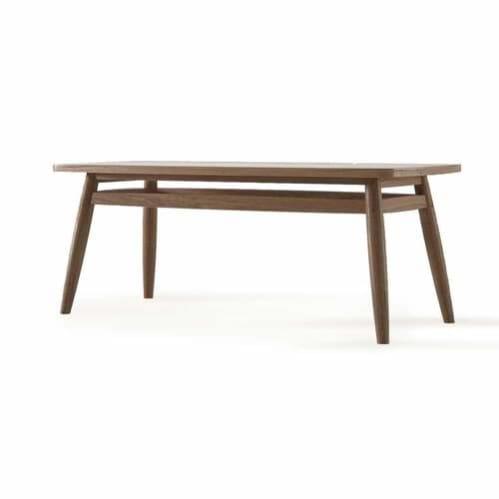 Twist Coffee Table 120cm - Teak