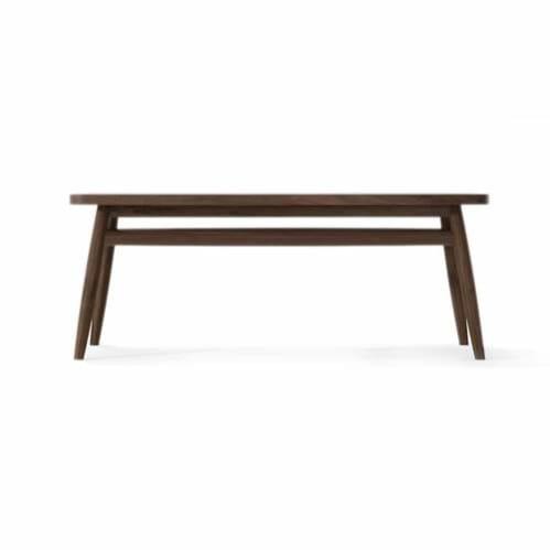 Twist Coffee Table 120cm - Walnut