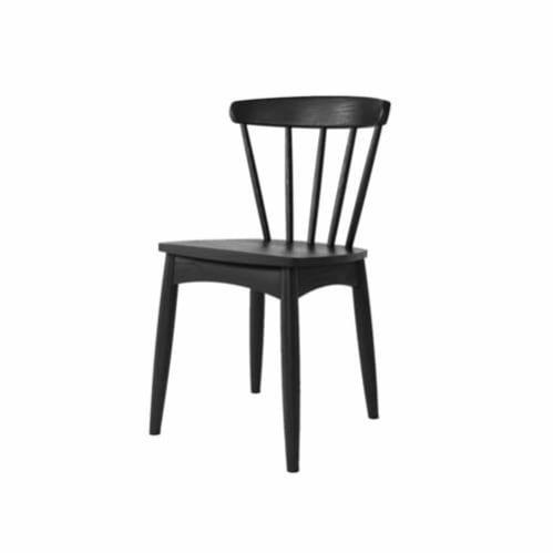 Twist Dining Chair - Satin Black