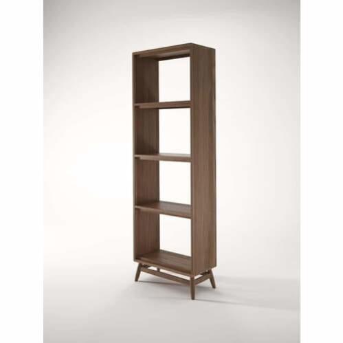 Twist Open Bookcase - Teak