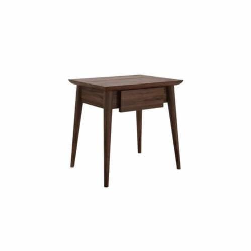 Vintage Bedside Table Small - Wallnut