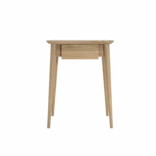 Vintage Bedside Table - Oak