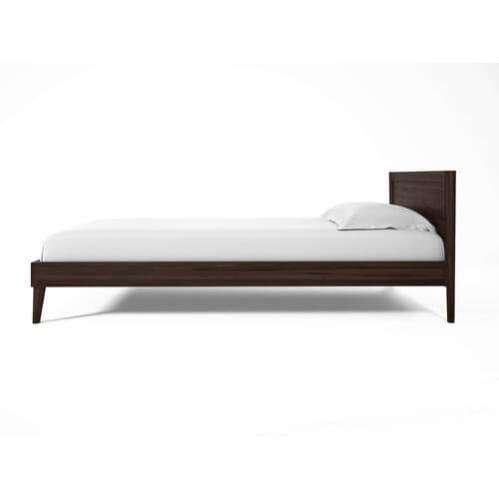 Vintage Double Bed - Walnut