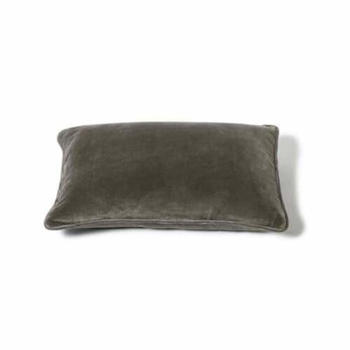 Rectangle Velvet Cushion - Olive